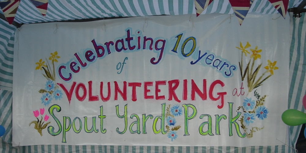 Celebrating 10 years of volunteering